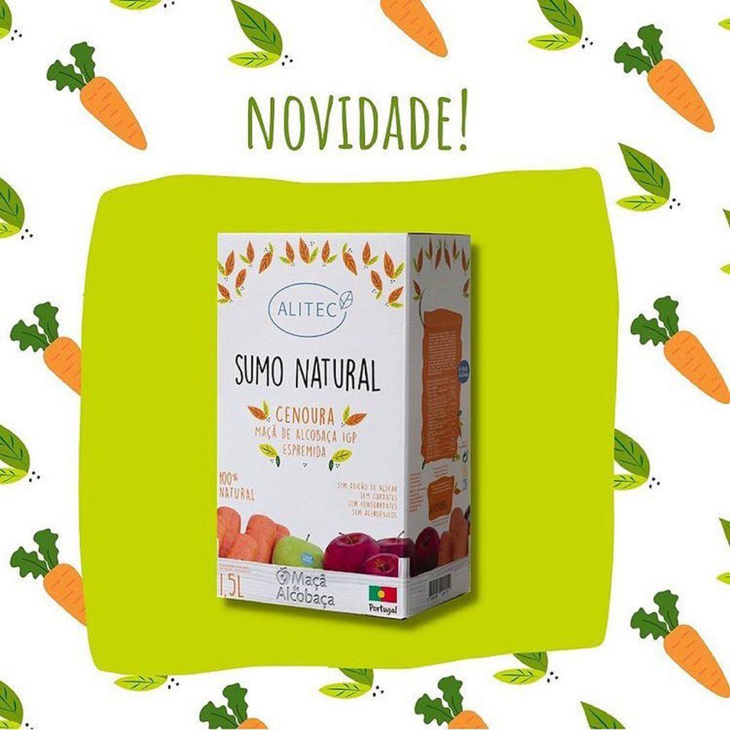 Novidade Campotec - Sumo Natural